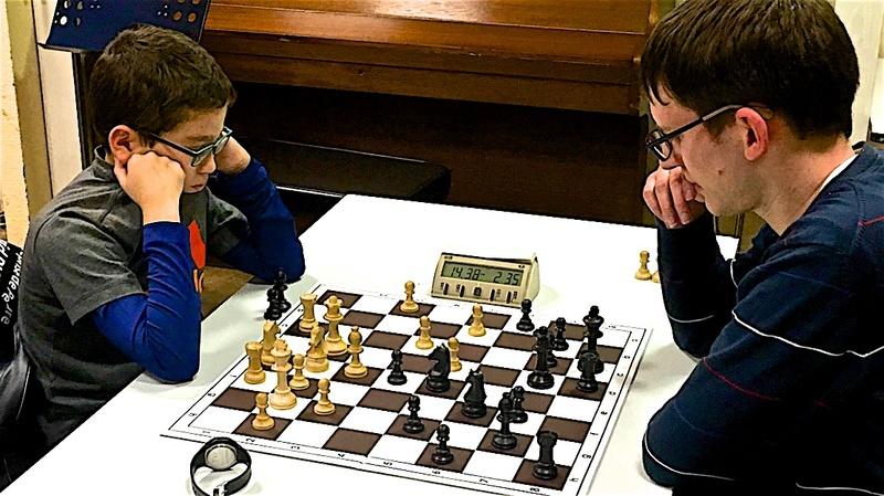Adem concentré lors du 2ème Open de l'Elsau